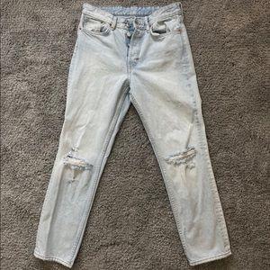 H&M Vintage Fit &Denim Jeans